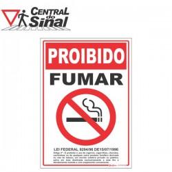 Placas - Proibido fumar e variações