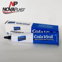Cola Vinil Fortik - Adesivo Especial para PVC Flexível