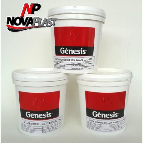 Tinta Gênesis Hidrocryl Mix Preto 900ml