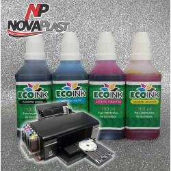 Tinta Corante para cartuchos e bulk Epson - 100ml - Cores