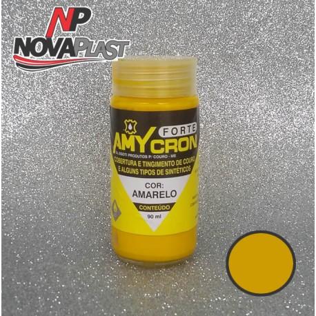 Tinta Recuperadora de Couro Amycron - Amarelo - 90ml