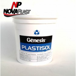 Tinta Gênesis Plastisol® Super Alimínio 900ml