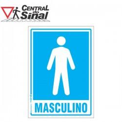 Placa - Banheiro Masculino / Feminino