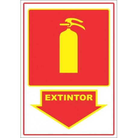 Placa - Extintor e Variações